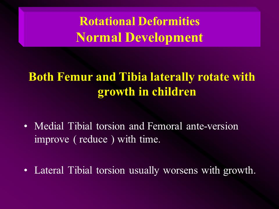 development of deformities (national institute of child health and human development)  find health information in languages other than english on common infant and newborn problems.
