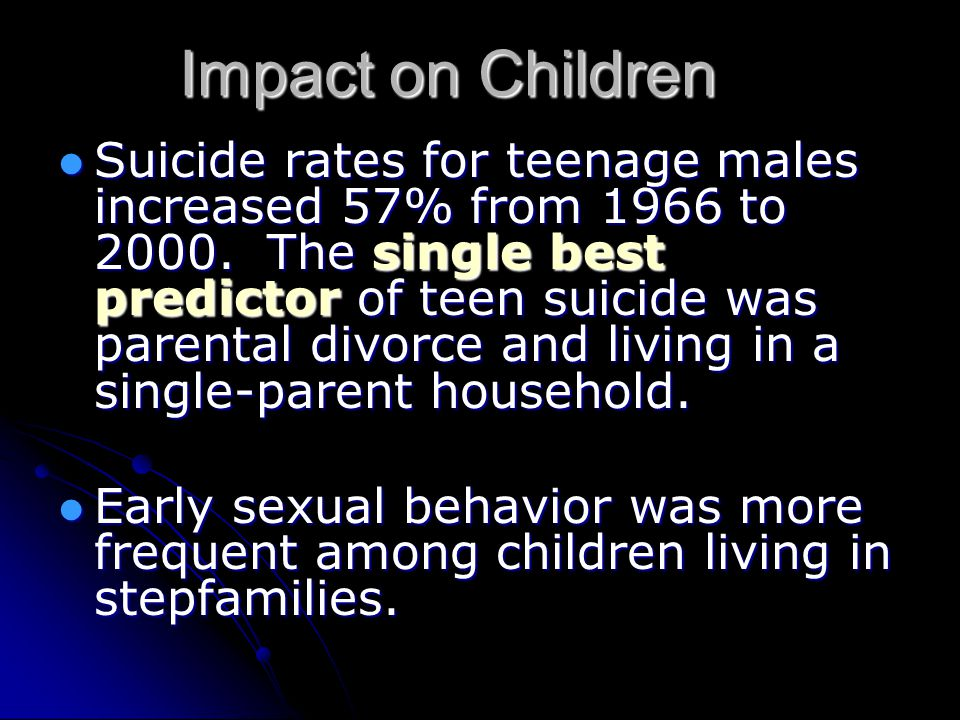 Impact on Children