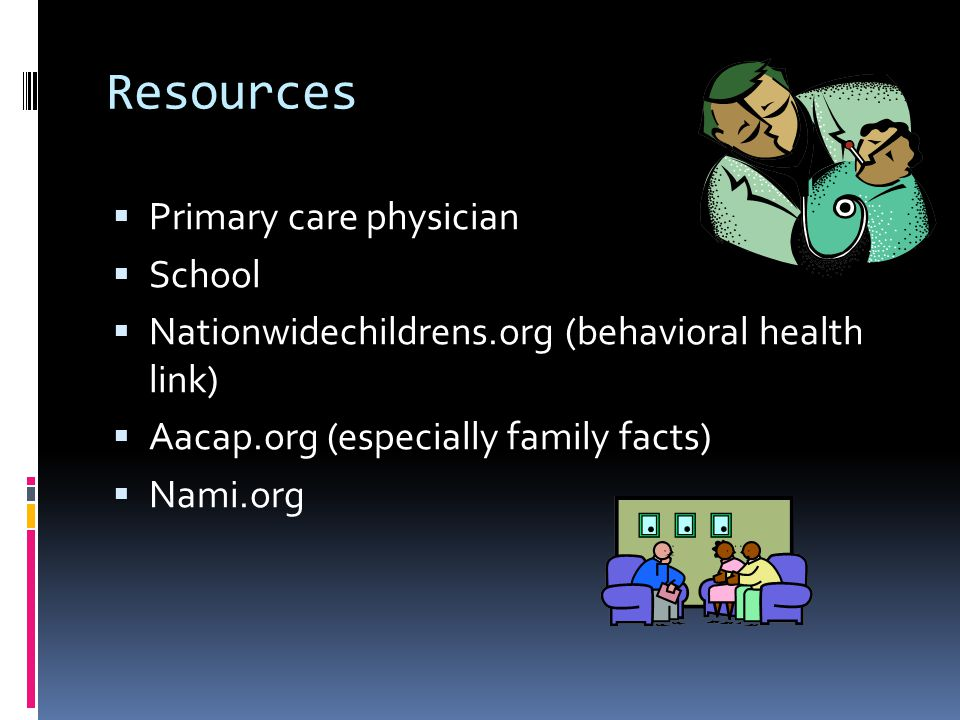 Resources Primary care physician School