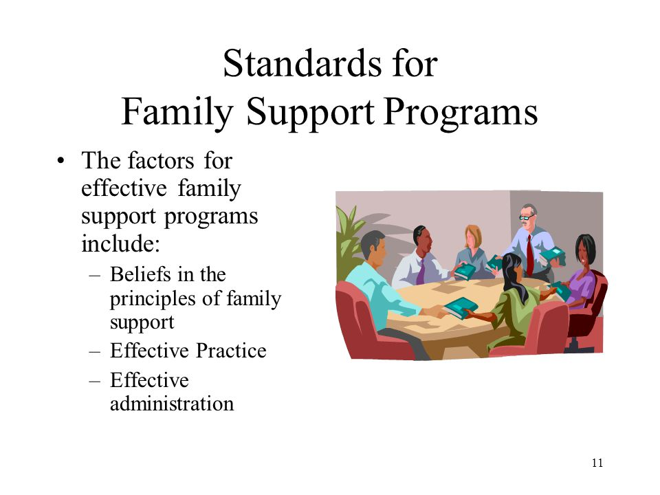 Standards for Family Support Programs