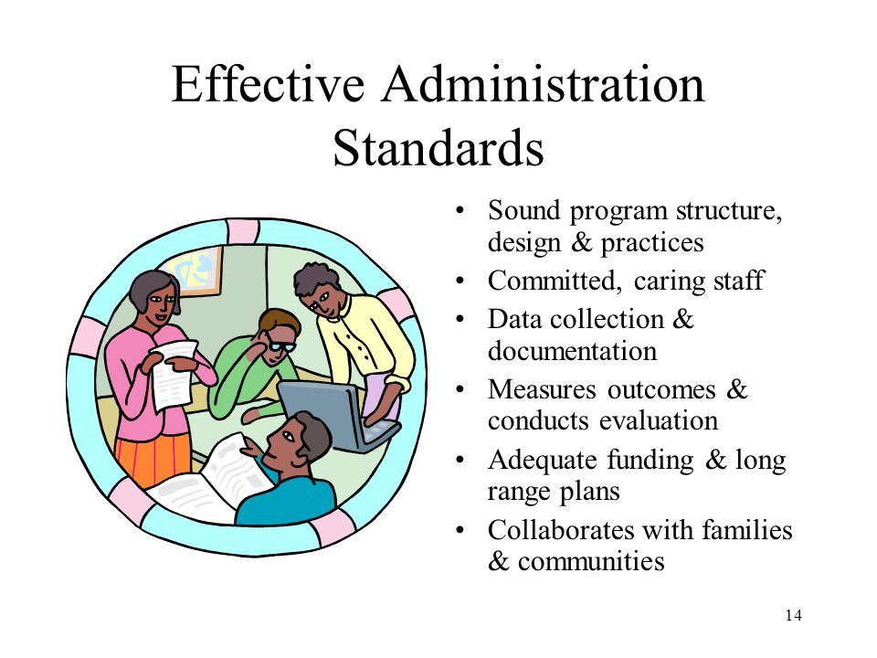 Effective Administration Standards