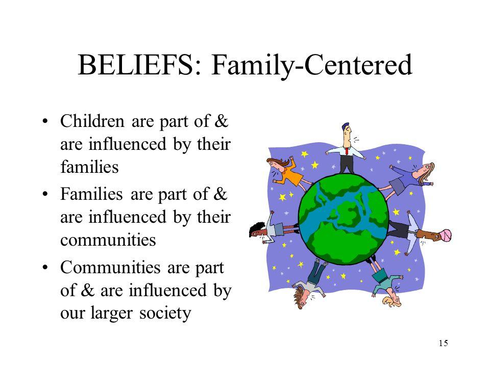 BELIEFS: Family-Centered