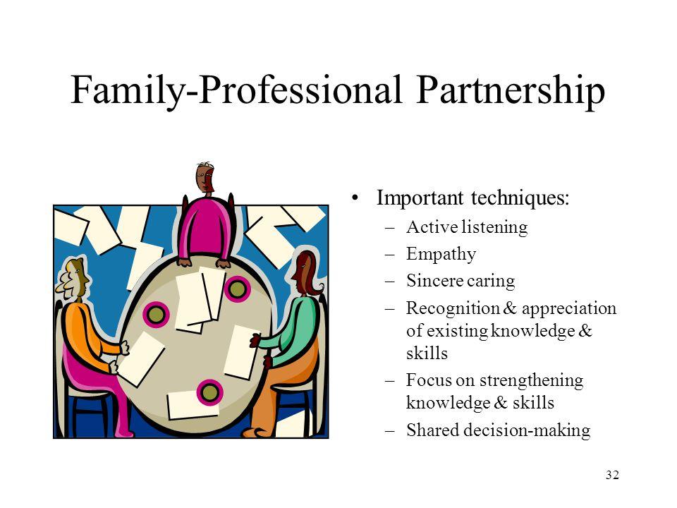Family-Professional Partnership