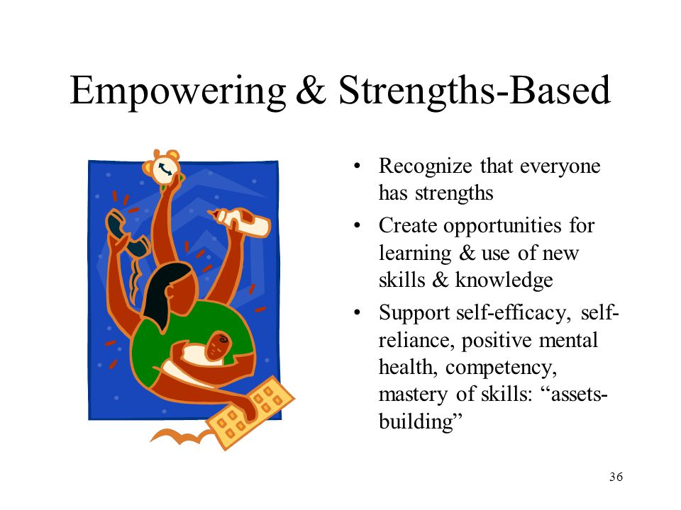 Empowering & Strengths-Based
