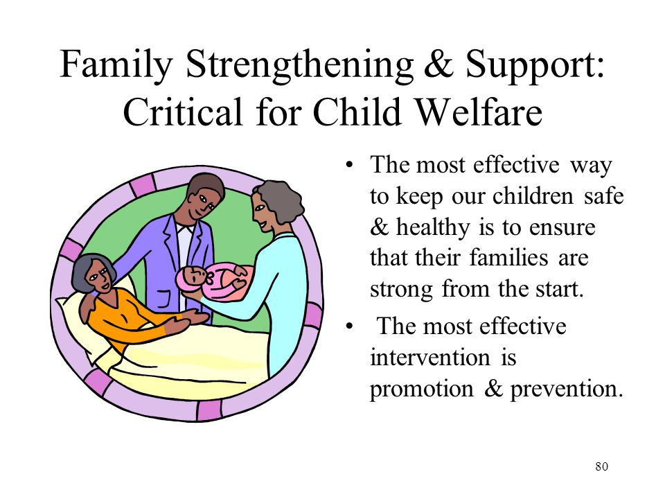 Family Strengthening & Support: Critical for Child Welfare