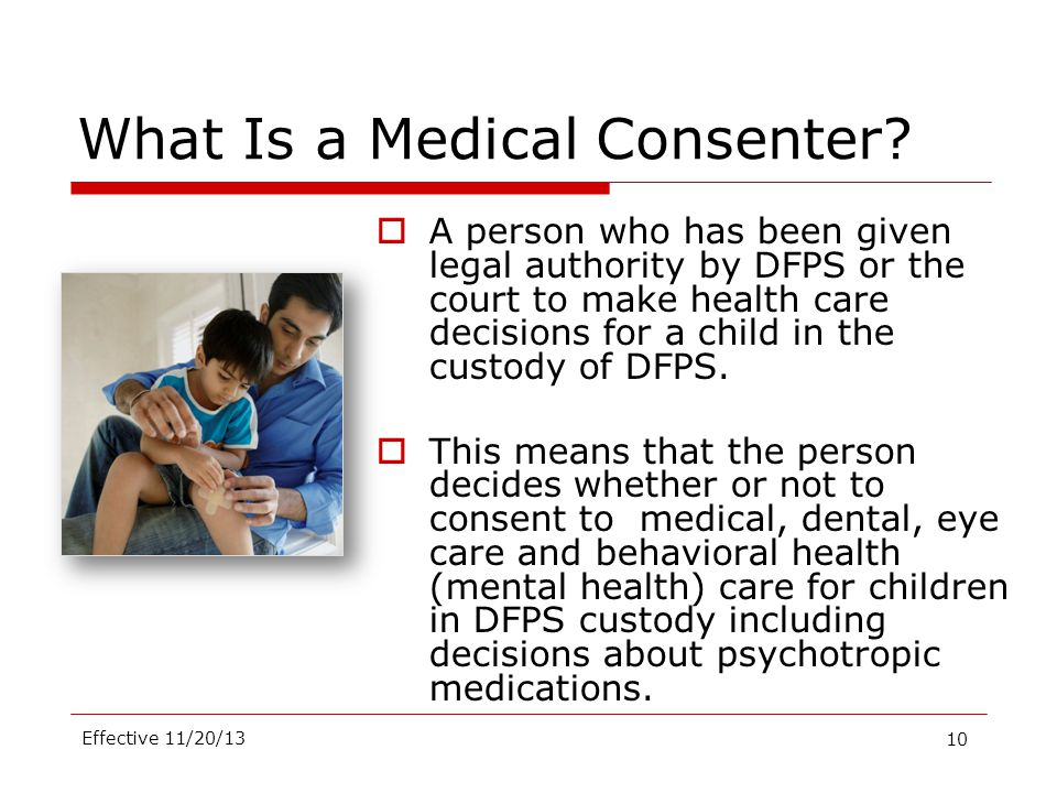 What Is a Medical Consenter