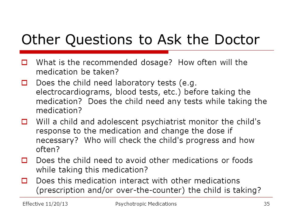 Other Questions to Ask the Doctor