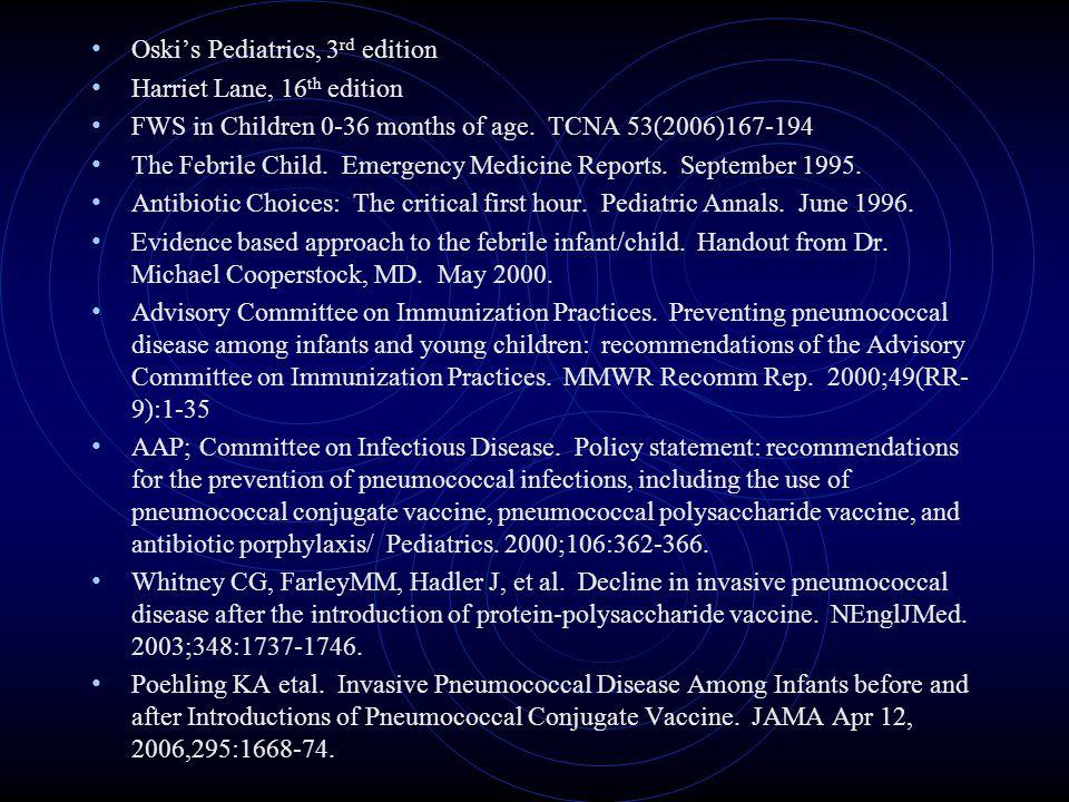 Oski's Pediatrics, 3rd edition