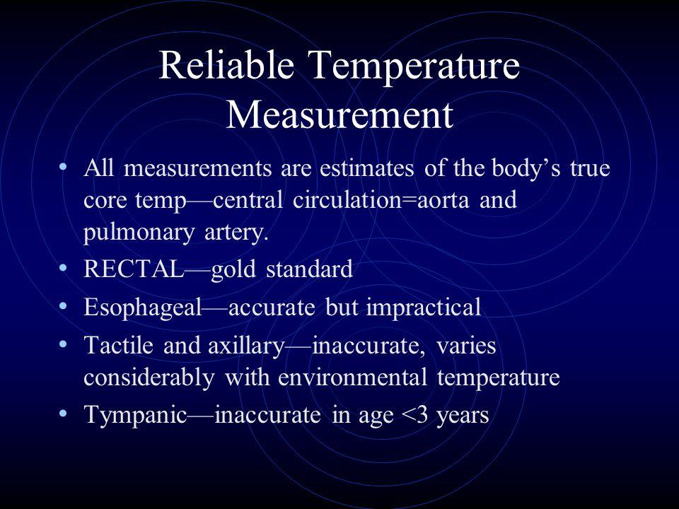 Reliable Temperature Measurement