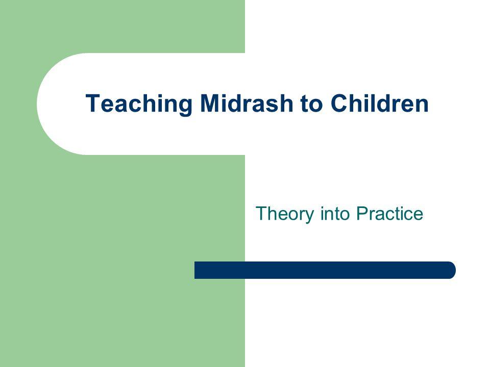 Teaching Midrash to Children