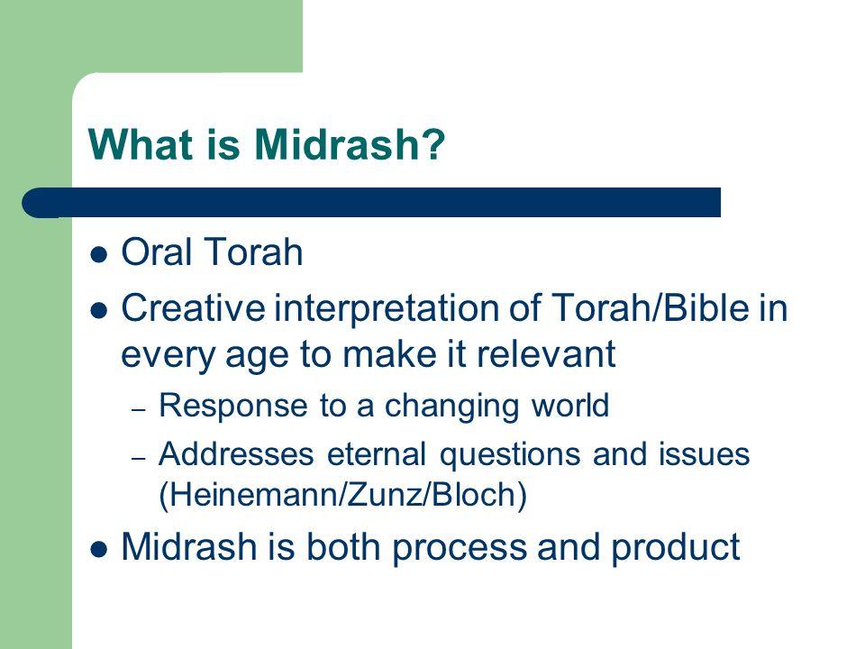 What is Midrash Oral Torah