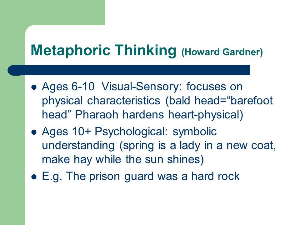 Metaphoric Thinking (Howard Gardner)