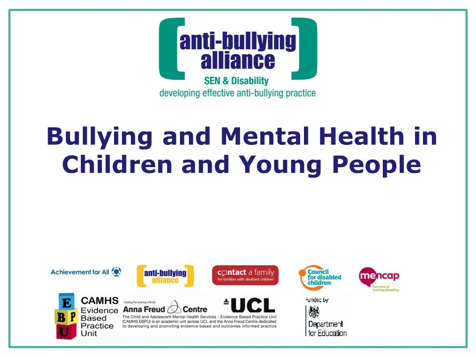 Safeguarding bullying and young people