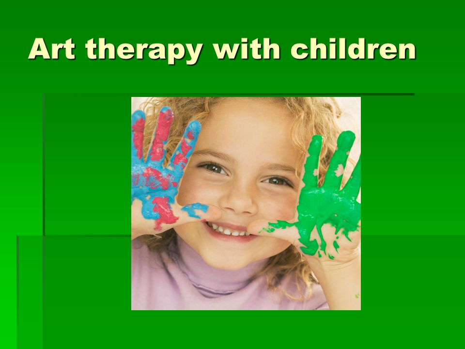 Art therapy with children