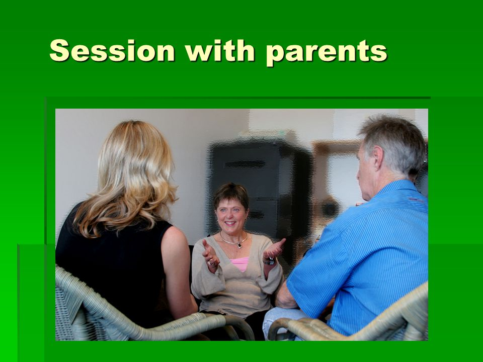 Session with parents