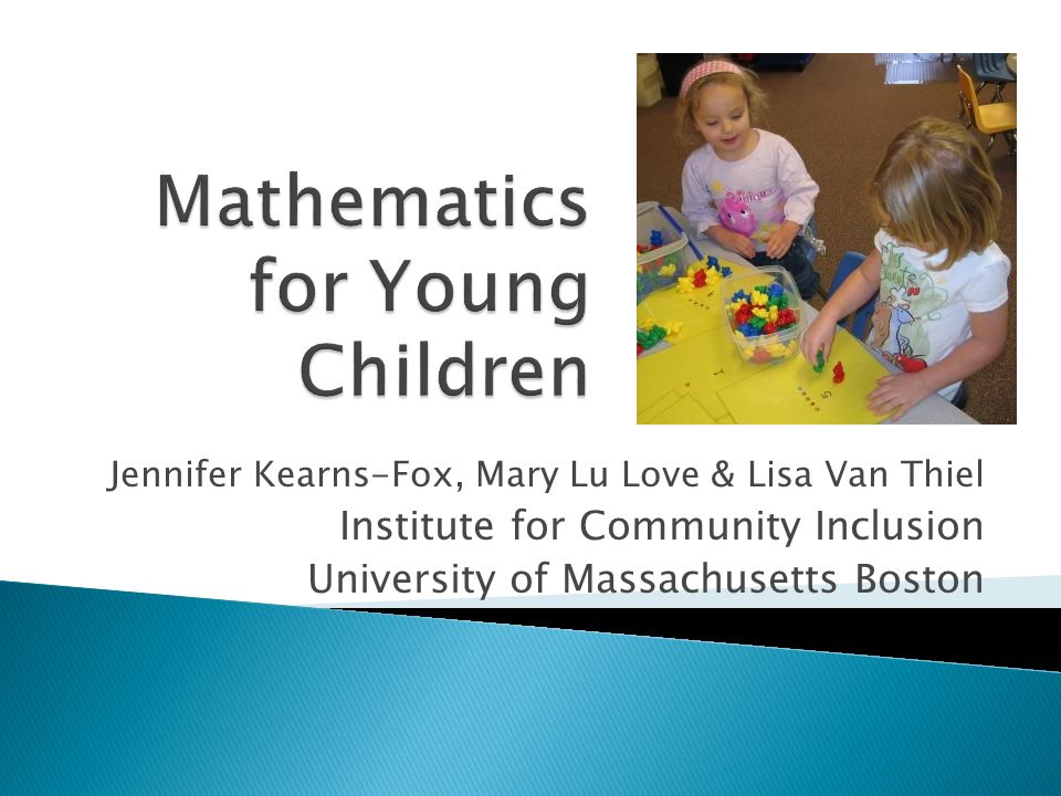 Mathematics for Young Children