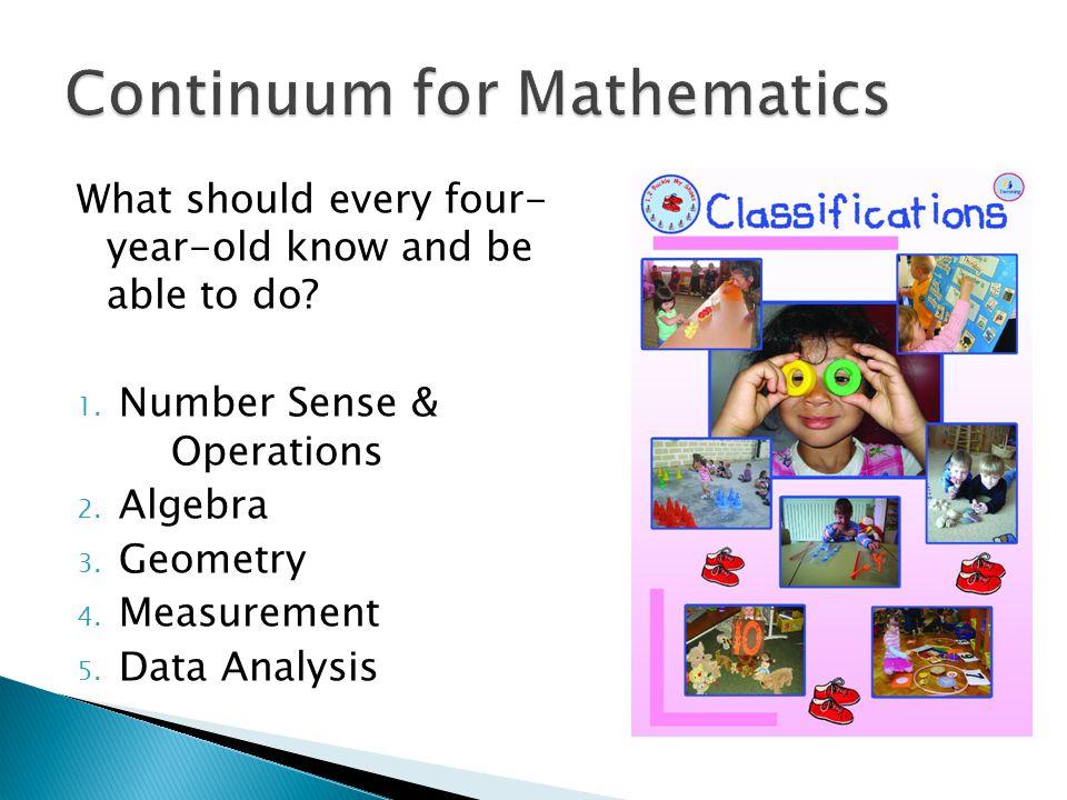 Continuum for Mathematics