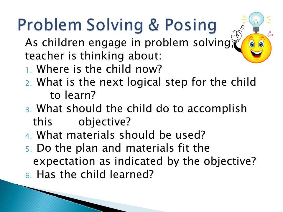 Problem Solving & Posing