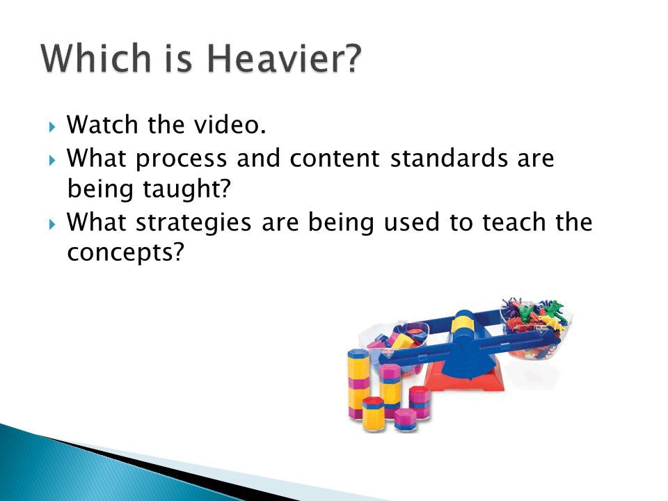 Which is Heavier Watch the video.
