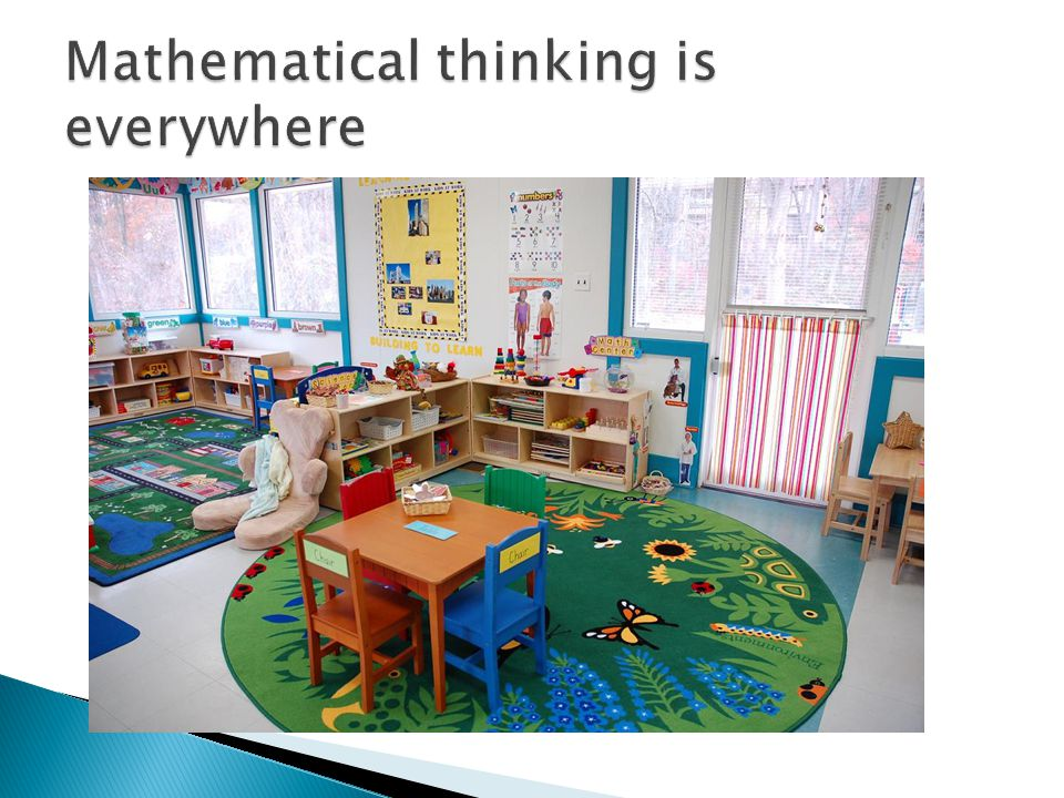 Mathematical thinking is everywhere