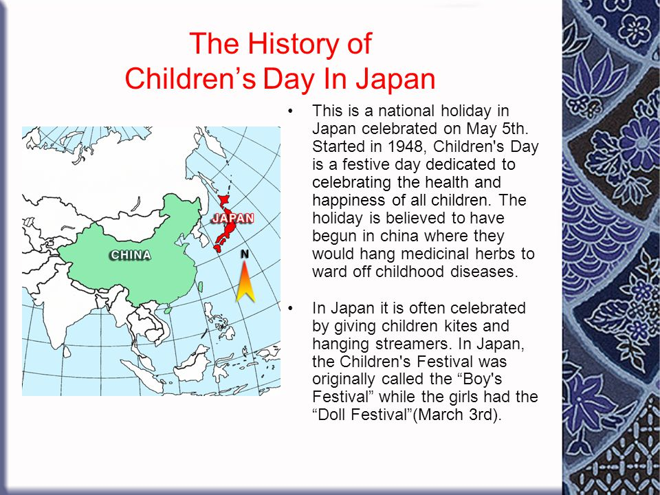 The History of Children's Day In Japan