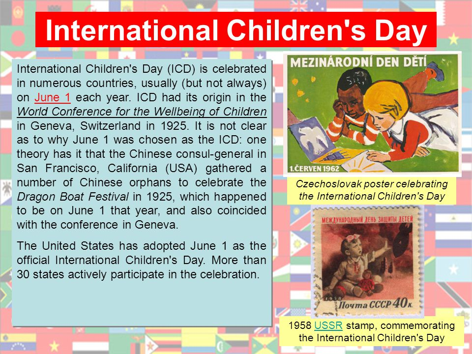 International Children s Day