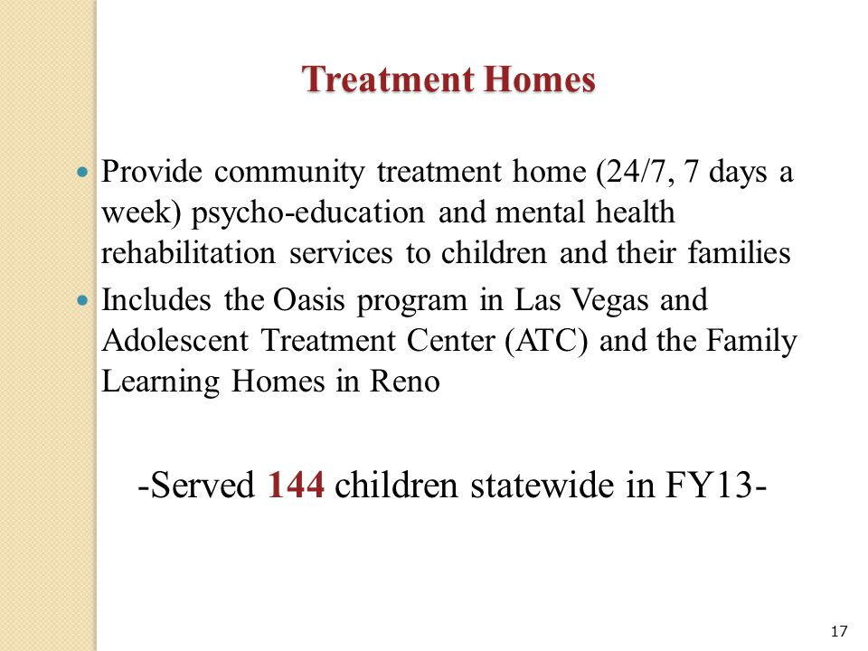-Served 144 children statewide in FY13-