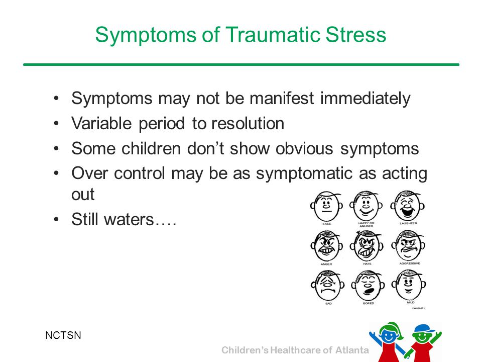 Symptoms of Traumatic Stress