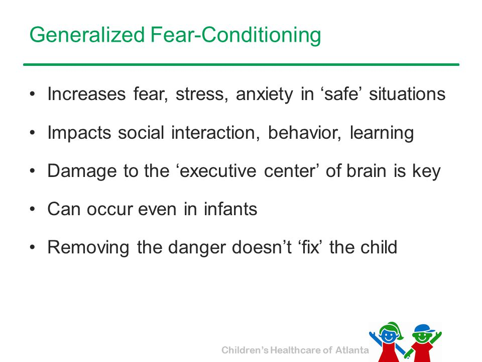 Generalized Fear-Conditioning