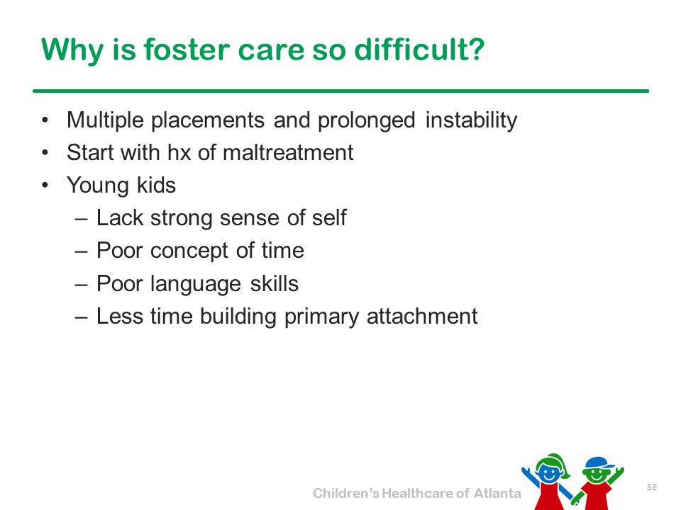 Why is foster care so difficult