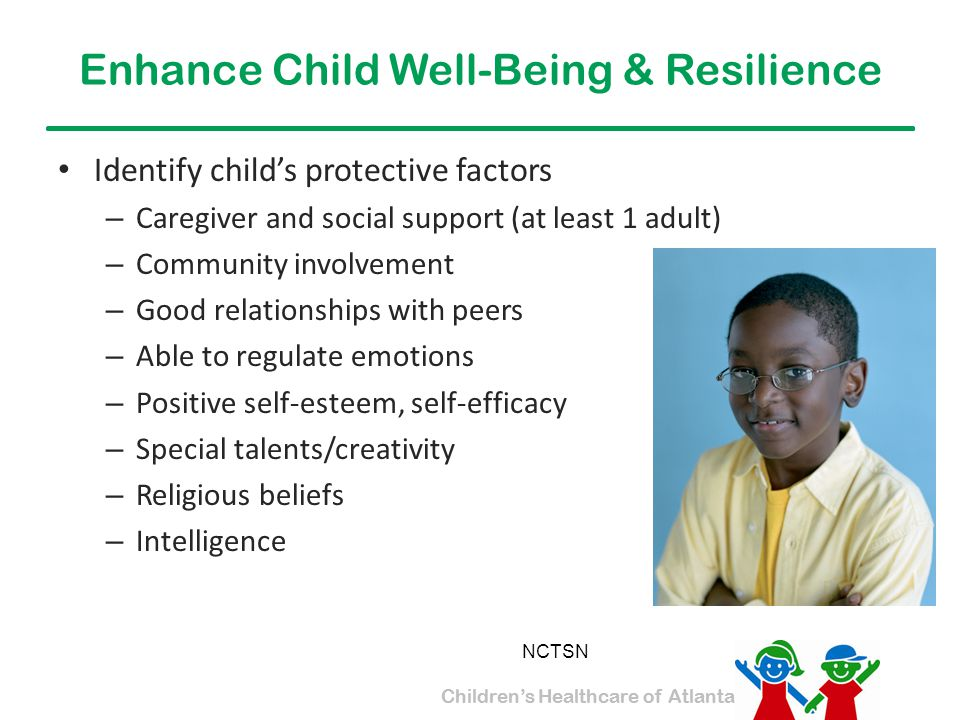Enhance Child Well-Being & Resilience