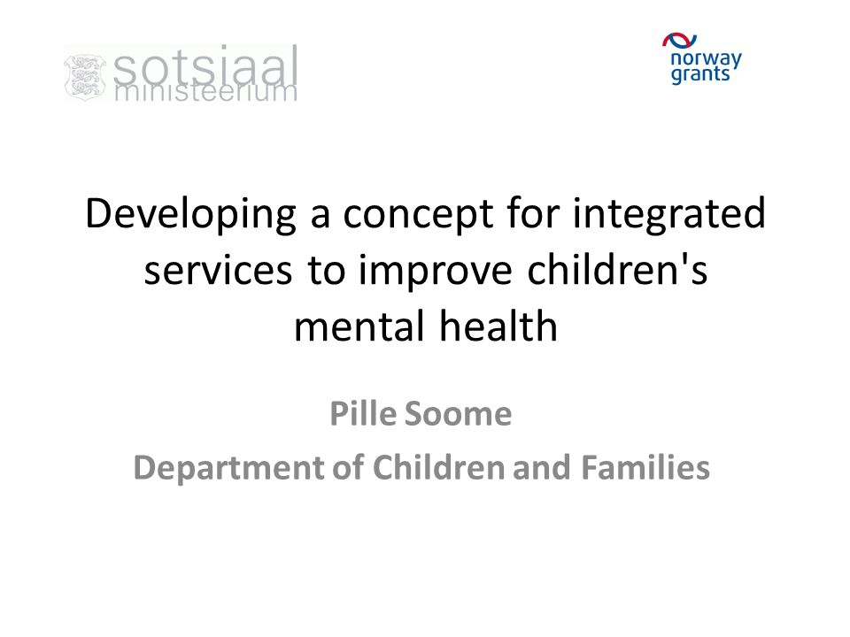 Pille Soome Department of Children and Families