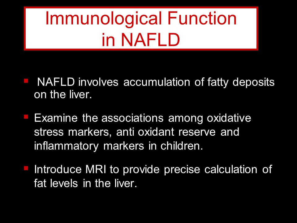Immunological Function in NAFLD