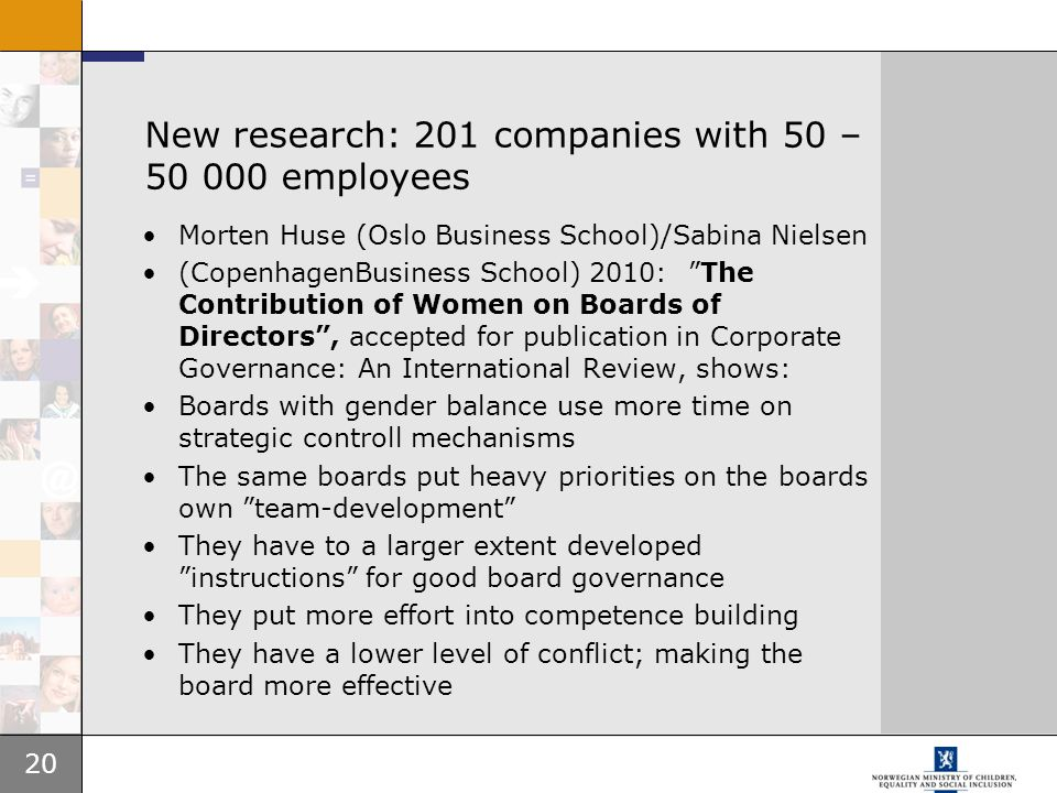 New research: 201 companies with 50 – employees