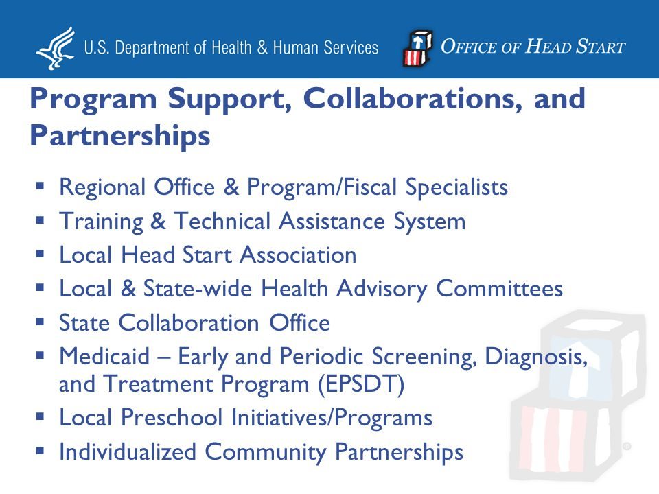 Program Support, Collaborations, and Partnerships