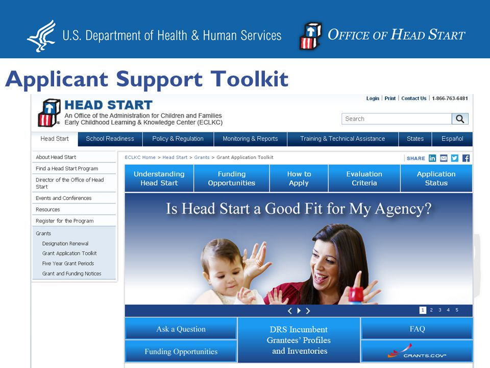 Applicant Support Toolkit