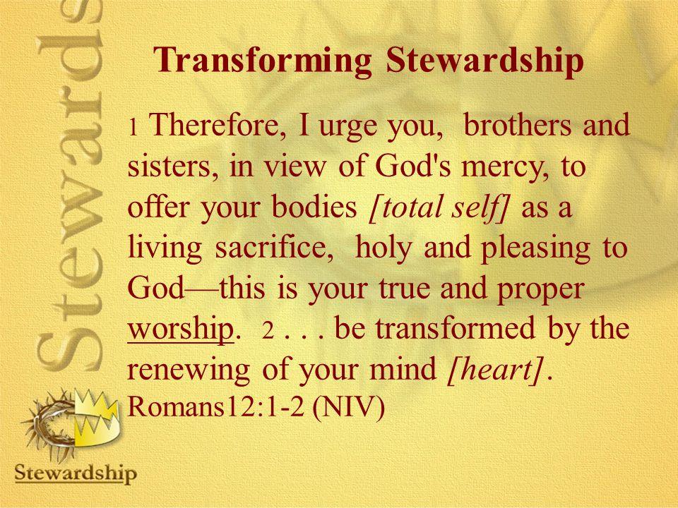 Transforming Stewardship