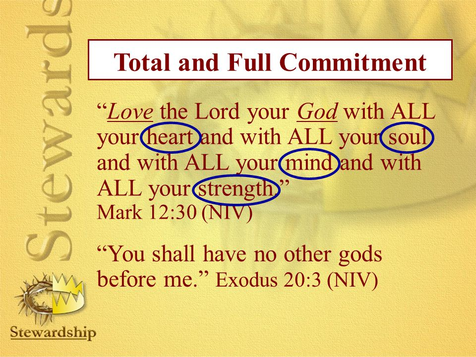 Total and Full Commitment