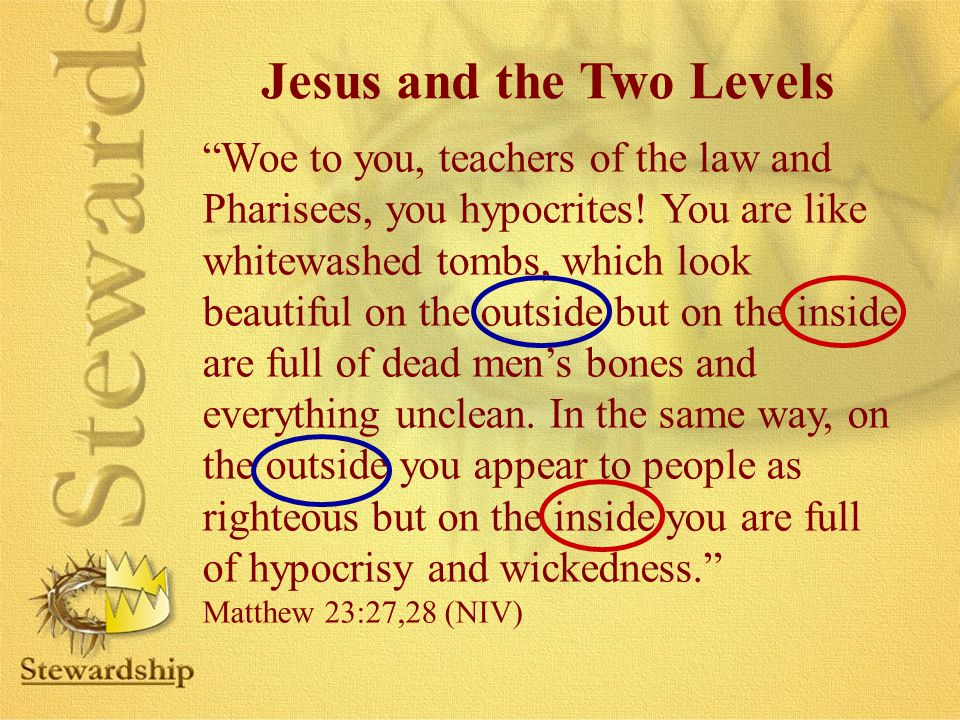 Jesus and the Two Levels