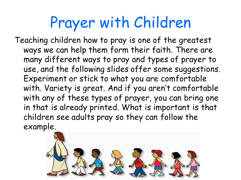 Prayer with Children