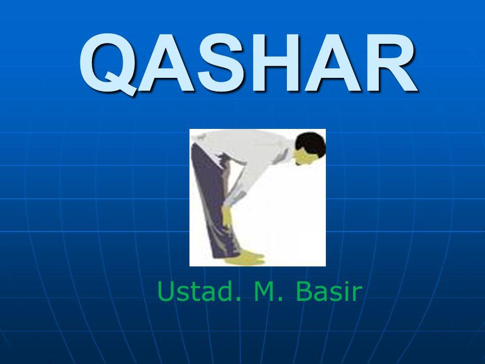 QASHAR Ustad. M. Basir