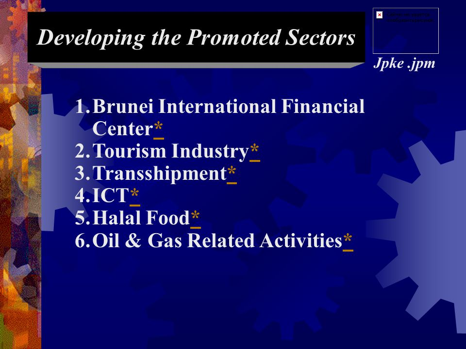 Developing the Promoted Sectors