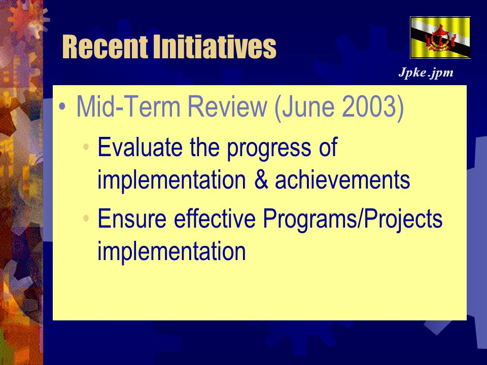 Mid-Term Review (June 2003)
