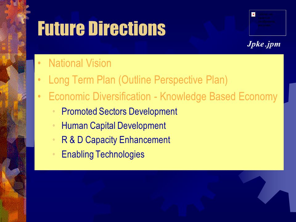 Future Directions National Vision