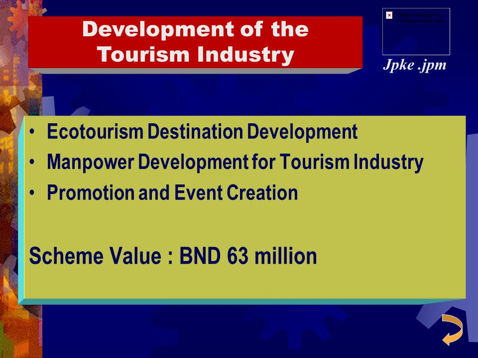 Development of the Tourism Industry