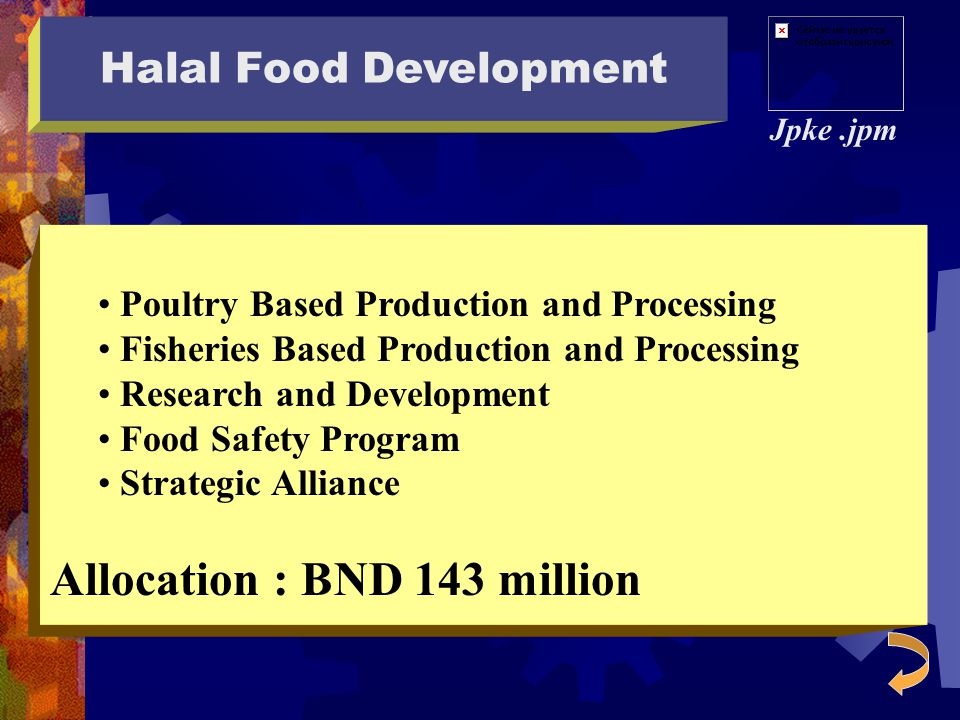 Halal Food Development