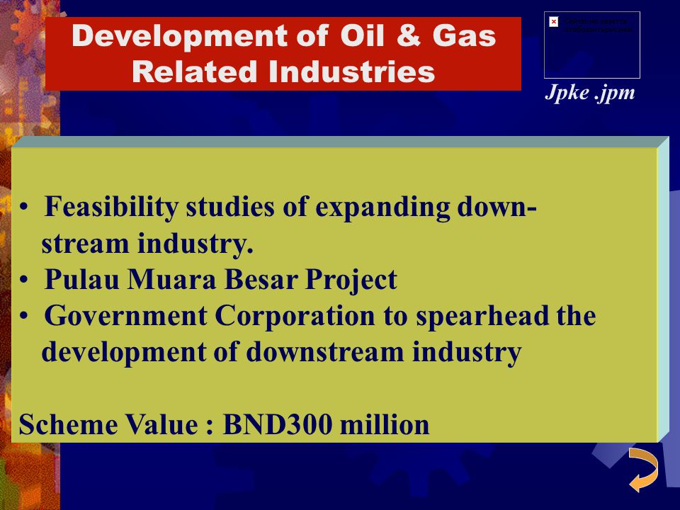 Development of Oil & Gas Related Industries