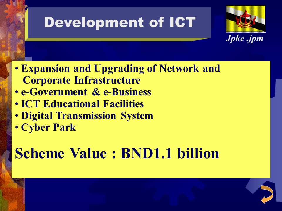 Scheme Value : BND1.1 billion