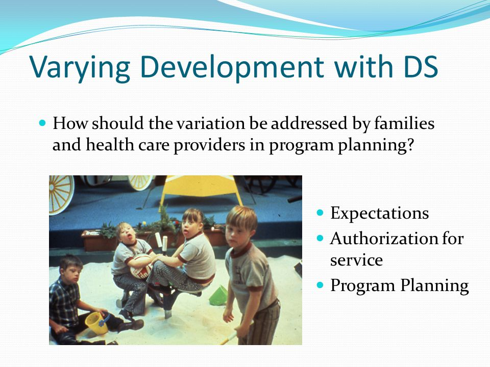 Varying Development with DS