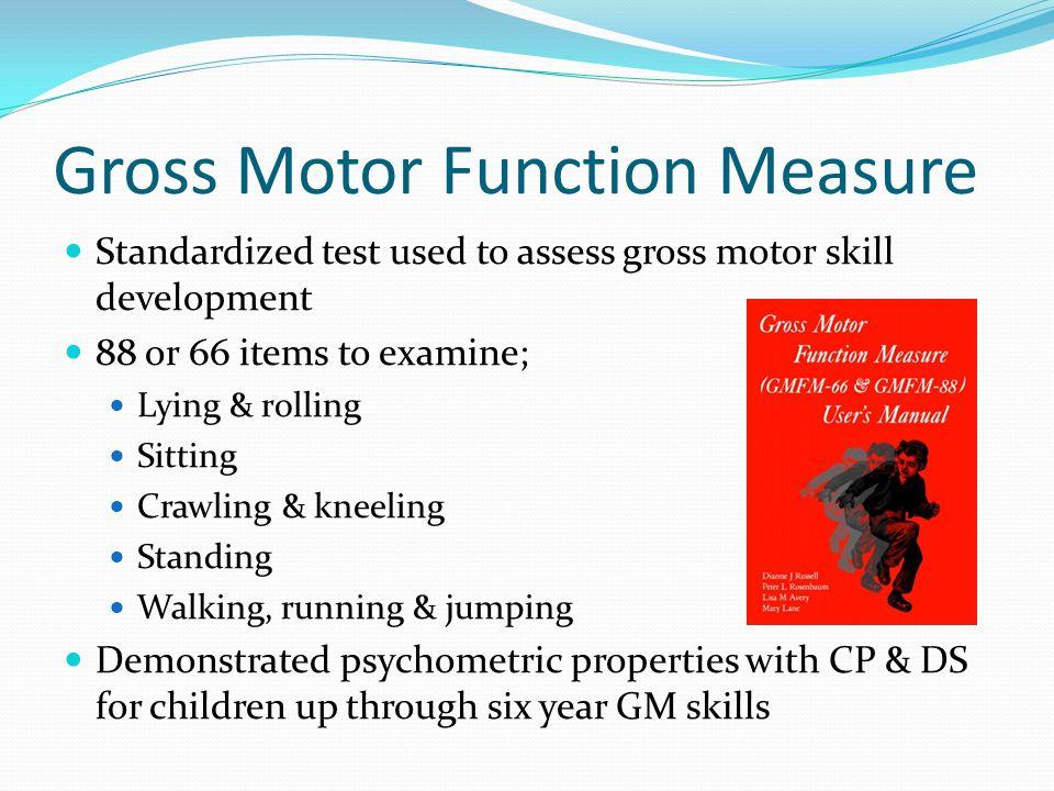 Gross Motor Function Measure
